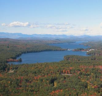 Brandy Pond and Long Lake Maine